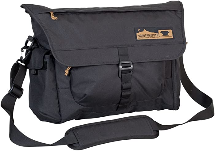 Mountainsmith Adventure Office Messenger Bag, Heritage Black, One Size