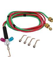 B Blesiya High Quality Mini Jewelry Gas Welding Micro Torch Jewelers Welding Soldering w/ 5 Nozzles