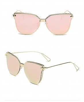 Lunettes de Soleil Fashion Fashion Retro Sunglasses , Cadre en or Cerisier