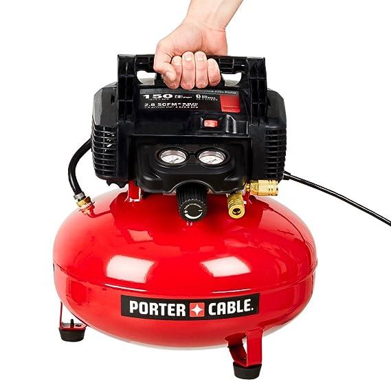 Amazon Porter Cable C2002 Oil Free Umc Pancake Compressor Home