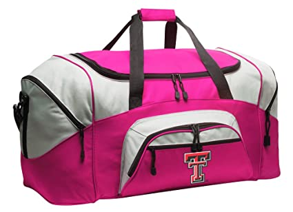 0d43f3ae Amazon.com : Large Texas Tech Duffel Bag Ladies Texas Tech Red ...