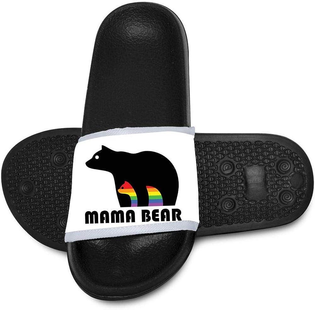 Miaoiye Fashion Autism Awareness Bear Kids Cool Slippers Comfortable Sandal Graffiti Designs For Boys /& Girls