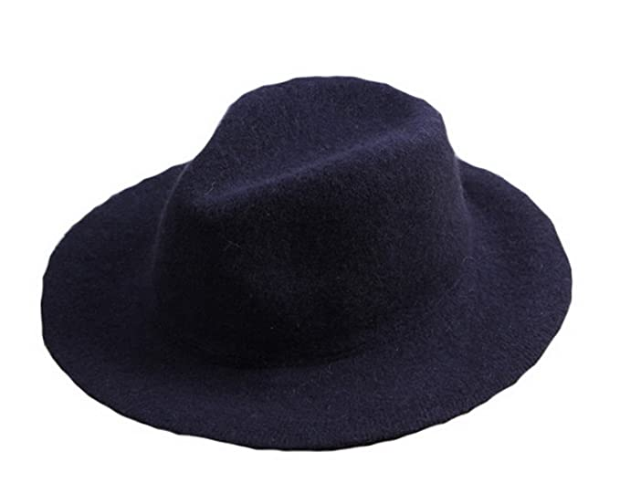 Licus - Sombrero de vestir - para mujer Azul azul marino Medium  Amazon.es   Ropa y accesorios 6c8326b4e4c