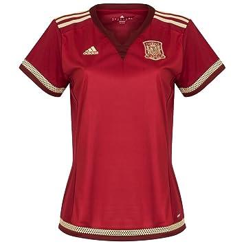 Adidas FEF W H JSY WC - Camiseta para Mujer, Color Rojo/Blanco / Dorado, Talla L: Amazon.es: Zapatos y complementos