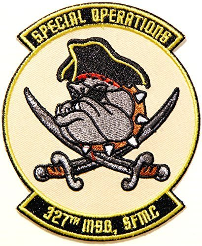 Us Army Corps Patch - SPECIAL OPERATIONS 327 TH MSG SFMC Scurvy Dog Bulldog Marines Corps army navy academy military us air force academy cavalry marine corps national guard logo Jacket Patch Sew Iron on Embroidered Sign Badge Costume