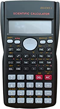 2 Line LCD Display Statistical Calculator, Multifunctional Scientific Calculator for Middle High School Students, Professionals and Researchers