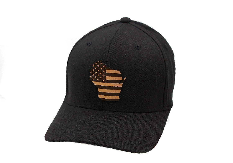 Wisconsin Patriot Flex Fit