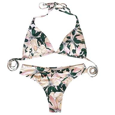 a70a32f76ad3 Bikinis Mujer 2019 Push Up BrasileñOs Conjunto De Ropa De BañO con ...