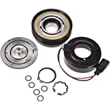 Catinbow AC Compressor Clutch Assembly Repair Kit with Pulley Bearing, Electromagnetic Coil & Plate for