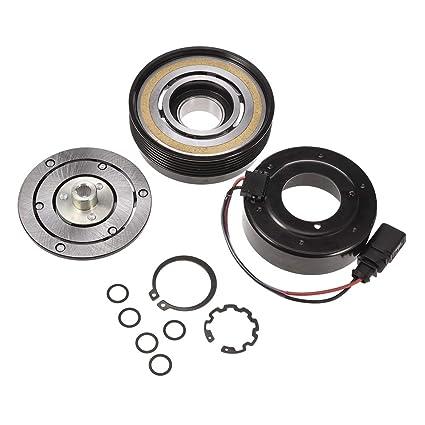 Amazon.com: Facaimo 1J0820803B AC Compressor Clutch Assembly AC Clutch Fits for Audi TT Volkswagen Beetle Golf Jetta Polo 1J0820803L 1J0820803N 1J0820803F: ...