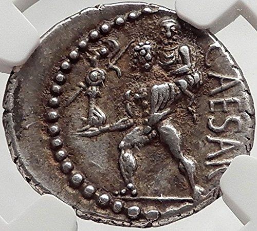 1000 IT JULIUS CAESAR 48BC Ancient AR Roman Coin VENUS TR Denarius Ch AU - Shops Forum Caesars