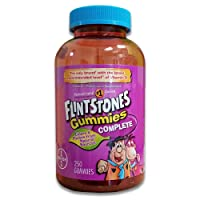 Flintstones Gummies Complete-Children's Multivitamin, 250 Gummies with More D3