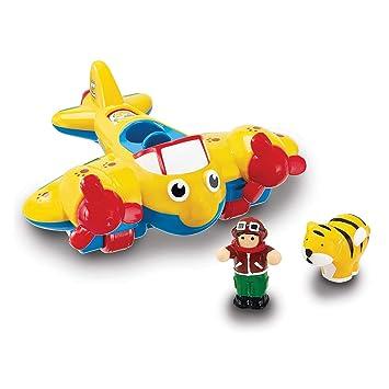 WOW Toys - Johnny Jungle Plane, avión de juguete (01013): Amazon.es: Juguetes y juegos