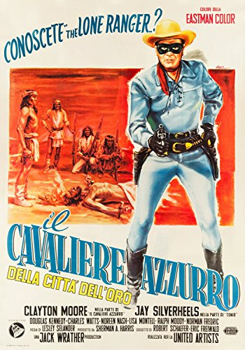 The Lone Ranger And The Lost City Of Gold (United Artists, 19 Italian Version Poster