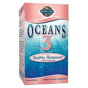 Garden of Life Oceans 3 - Healthy Hormone 90 Softgels