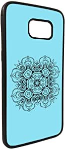 Decorative Drawings - Rose Printed Case for Galaxy S7