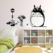 W&M Totoro Wall Decor Decal Baby Kid's Room Sticker Nursery Wall Art Decor Mural (#1)