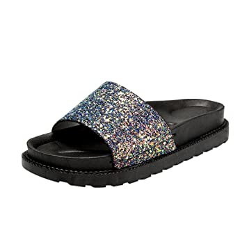 023af0f94f8e9 Sunday Women Summer Fashion Soft Flat Flip Flops Ladies Casual Slippers  Open Toe Shoes Sexy Straps