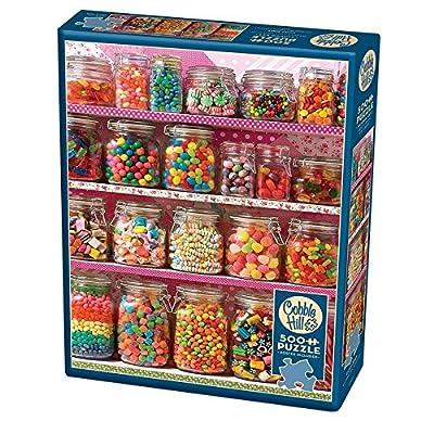 Cobblehill 85011 500 Pc Candy Mensola Puzzle Vari