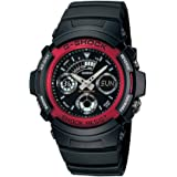 [カシオ]CASIO G-SHOCK(Gショック)腕時計 海外モデル AW-591-4ADR レッド[逆輸入品]