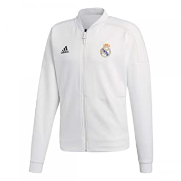 adidas 2018-2019 Real Madrid ZNE Anthem Jacket (White)