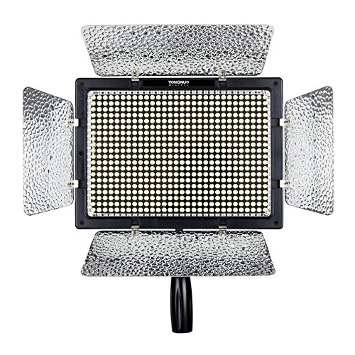 YONGNUO YN600II YN600L II Pro LED Video Light/ LED Studio Light with 3200-5500K Color Temperature and Adjustable Brightness for the SLR Cameras Camcorders by Yongnuo