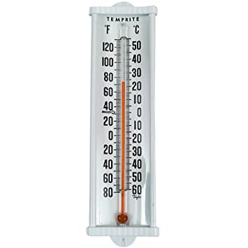 Digi-Sense Red Spirit Oven Glass Thermometers from Cole-Parmer