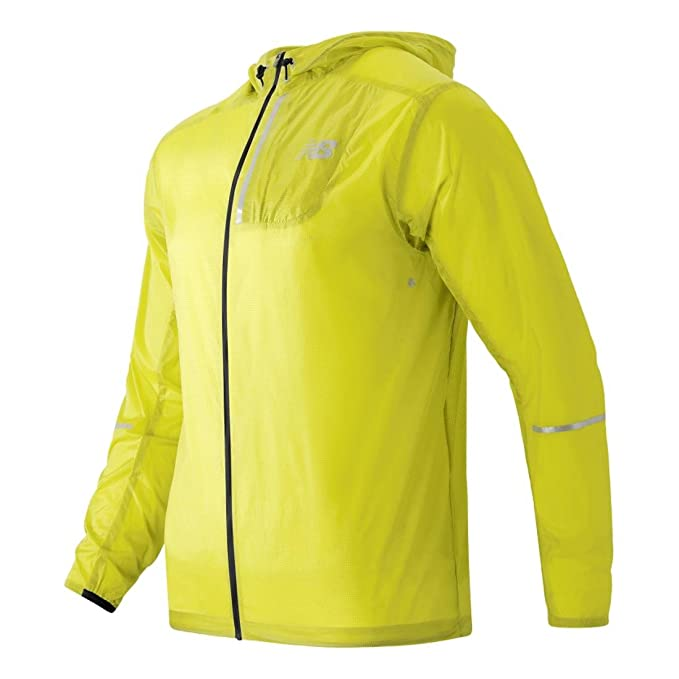 New Balance Lite Packable Jacket Firefly