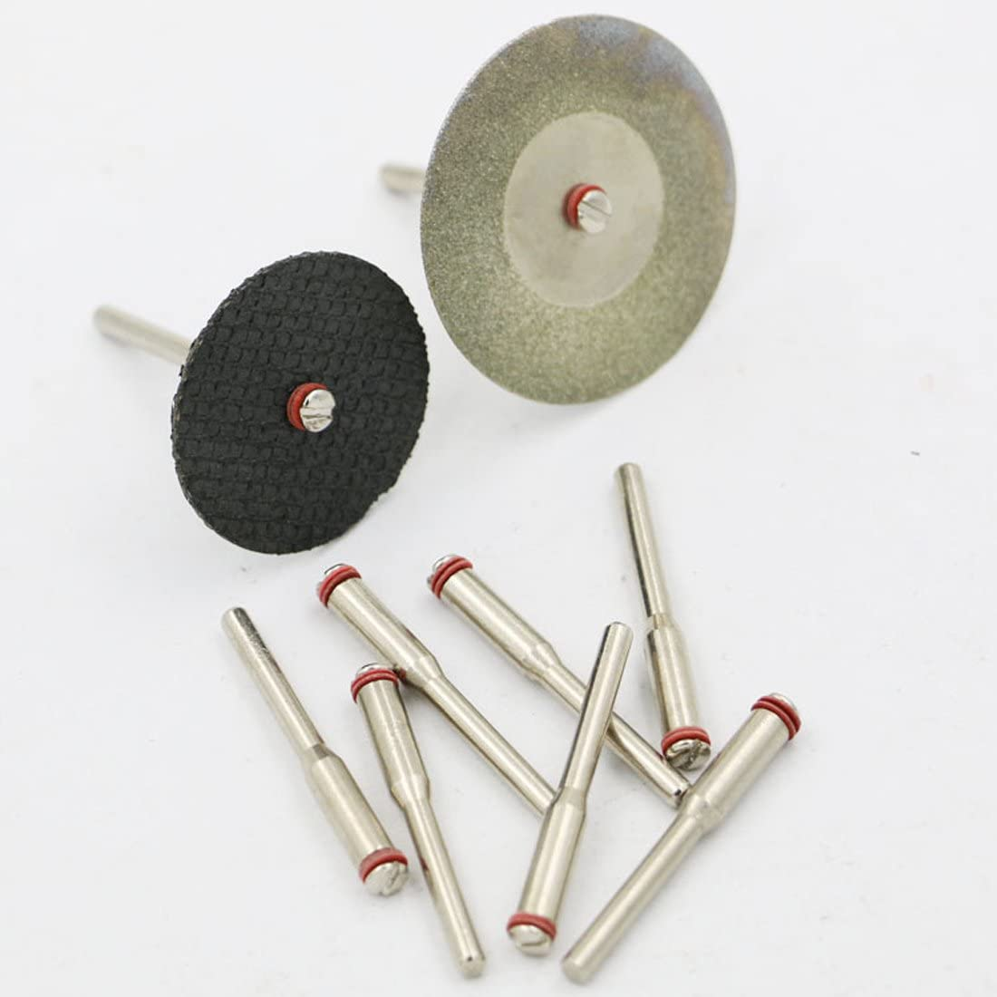 Good 10Pc 3.175mm Miniature Clamping Connecting Lever Polishing Wheel Mandrel Cutting Wheel Holder for Rotary Tool