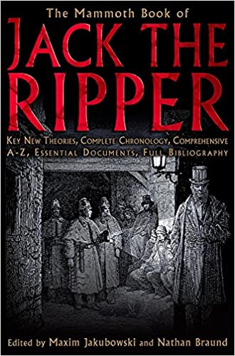 Image result for the mammoth book of jack the ripper book cover