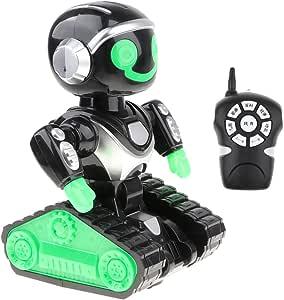 D DOLITY Juguete Electrónico de Robot de RC Multifuncional de Baile Cuenta Cuentos Música Juego Divertido para Niños: Amazon.es: Juguetes y juegos