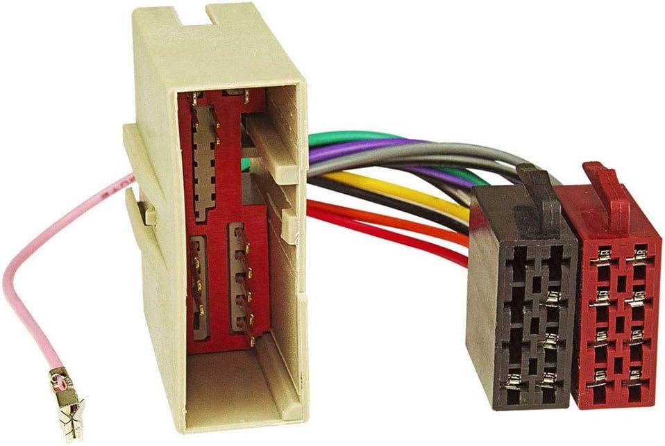 Baseline connect c/âble adaptateur dautoradio pour fORD /électricit/é haut-parleurs fiesta, fusion 2002 sur iSO