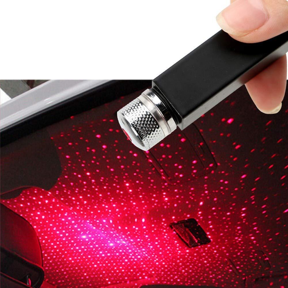 Luci LED Interne Auto Alimentato da USB Verde Kit RGB di Illuminazione e Decorazione per l/'Interno di Auto