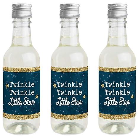 Twinkle Twinkle Little Star - Pegatinas para botella de vino ...