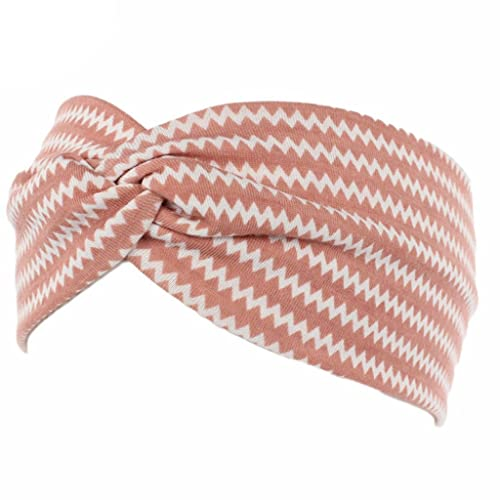 Jiamins Damen Bohemian Style Print Elastisches Stirnband Turban ...