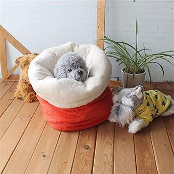 Wuwenw Lindo Saco De Dormir Para Mascotas Cálido Suave Perro Gato Cama De La Litera Casa