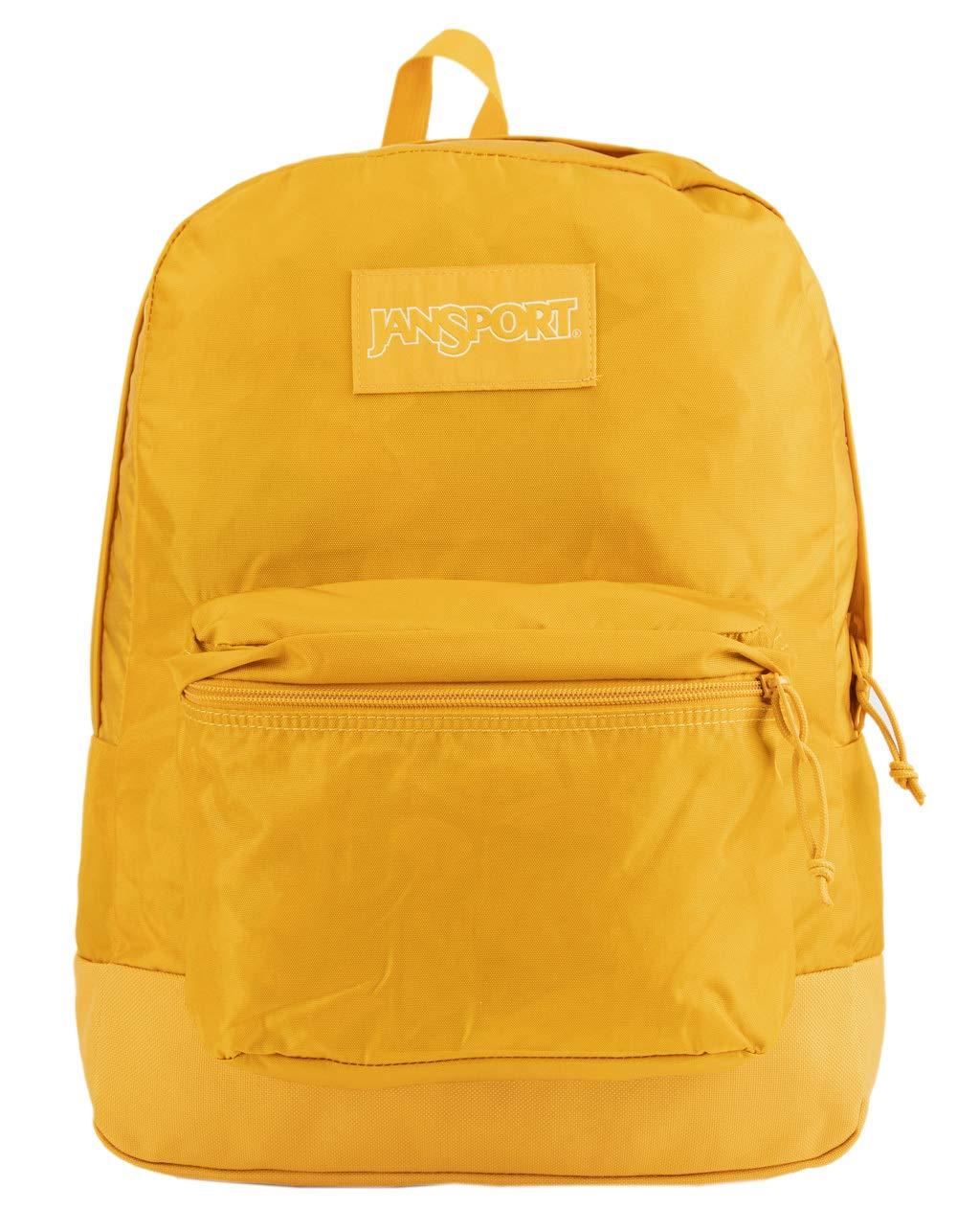 JanSport Mono Superbreak Backpack - Lightweight School Pack