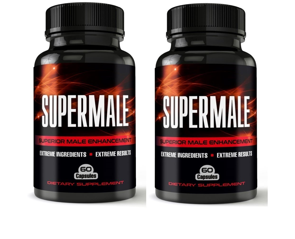 SuperMale - 2 Month Supply - Superior Male Enhancement Pills Increased Energy, Size, Sex Drive - Boost Libido and Testosterone - Sex Pills, Erection Pills, Enlargement Pills, All Natural Enhancement