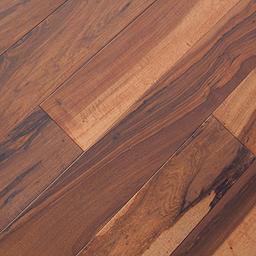 Pecan Flooring Wood (Brazilian Macchiato Pecan Chocolate Hardwood Floor (Sample))