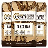 12-Ounce Bags , Tanzanian Peaberry, Whole Bean Coffee, Fresh Roasted Coffee LLC.