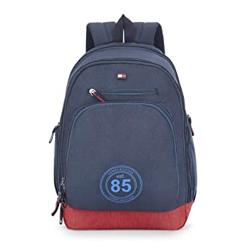 6ba7760d1b3 Tommy Hilfiger Biker Club - Daffodil 25 ltrs Navy Casual Backpack  (TH/BIKOL08DAF)