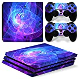 MODFREAKZ™ Console and Controller Vinyl Skin Set - Swirling Light for PS4 Pro