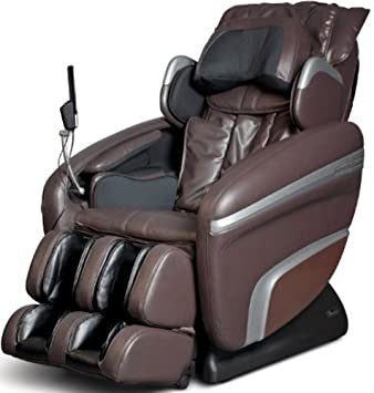 Marvelous Osaki OS6000B Model OS 6000 Deluxe Massage Chair, Brown, Zero Gravity, 3D