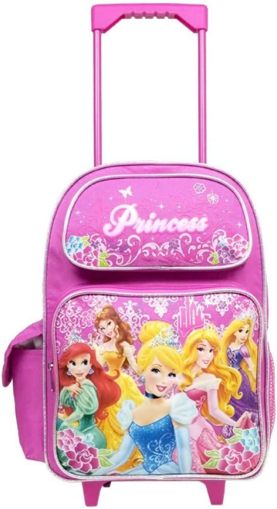 OFFICIAL DISNEY GIRLS FLOWERS {DPRIN001215}PINK TRAVEL BACKPACK SCHOOL  GIFT