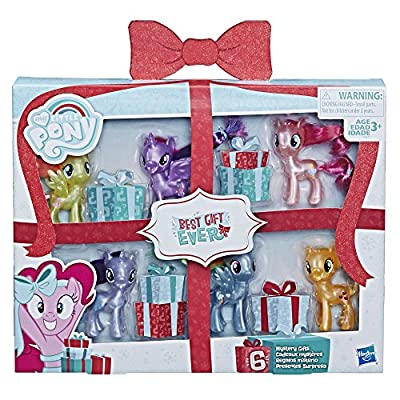 My Little Pony Mane 6 Celebration Set Toy: Toys & Games