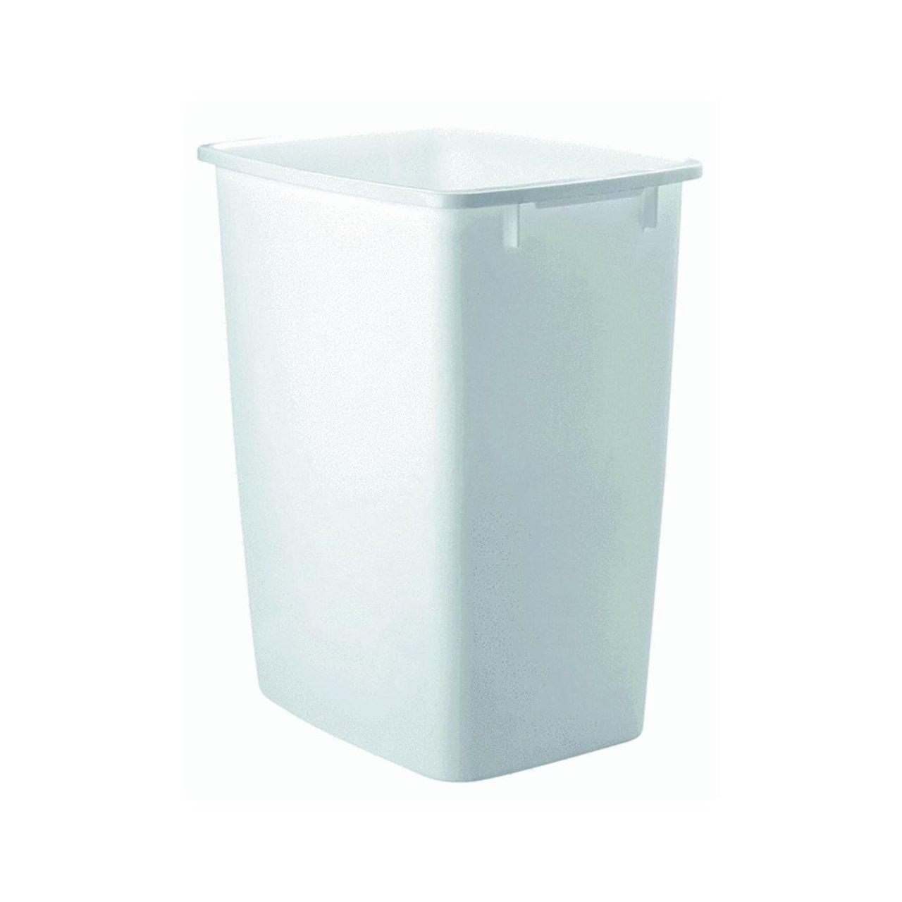 Rubbermaid - FG2806TPWHT Open Wastebasket (White) (36 Quart)