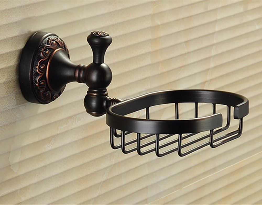 HOMEE All Copper Soap Stand Hotel Bathroom Rack Pendant,A