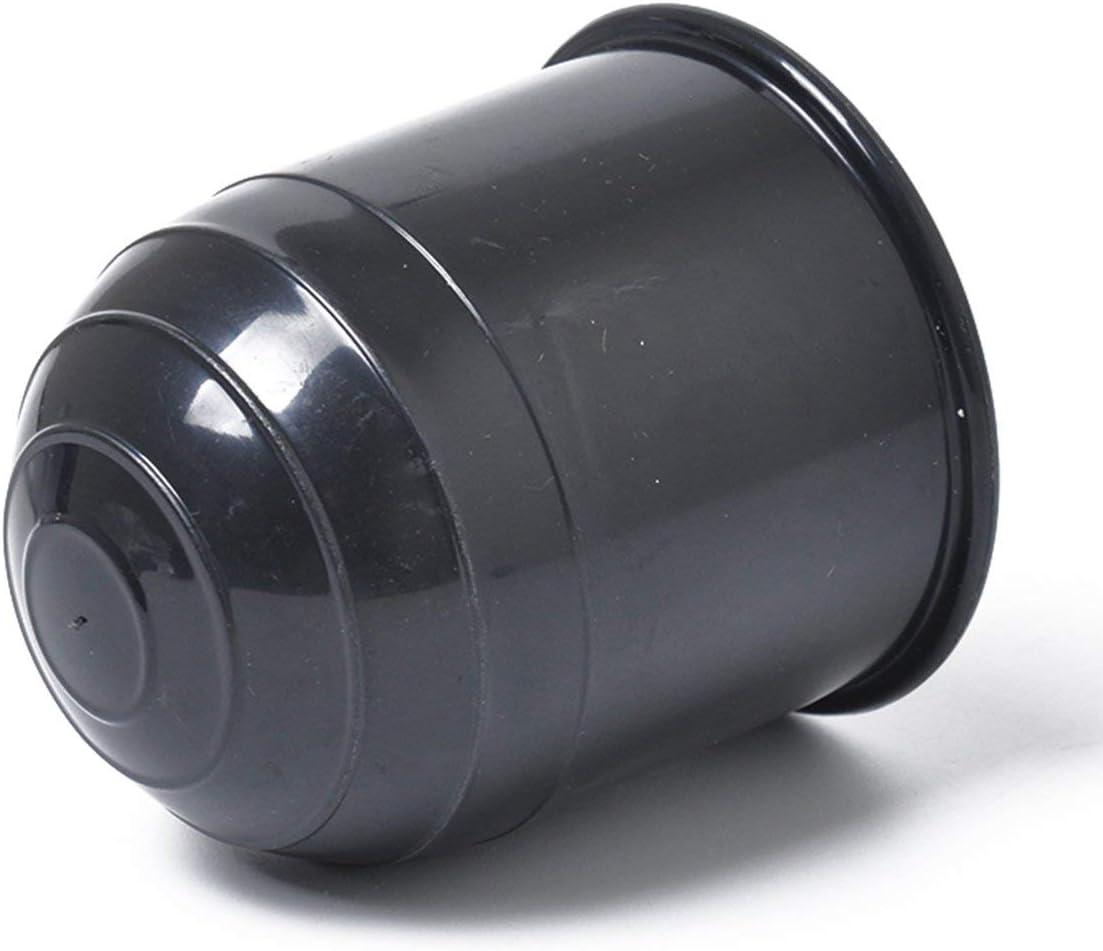 Pennytupu Universelle 50mm Anh/ängerkupplungskugelabdeckung Kappe Anh/ängerkupplung Wohnwagen Anh/ängerkupplung Sch/ützen Sie die Anh/ängerkupplungskugelabdeckung