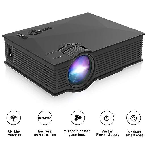 QLPP 130 Pantalla Mini proyector portátil 1200 lúmenes ...