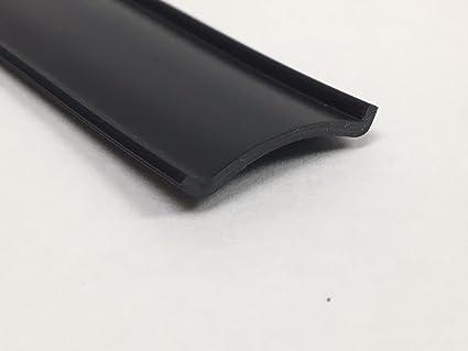 RV Vinyl Trim Insert 50, Black RV Roof Trim 1 RV Vinyl Insert